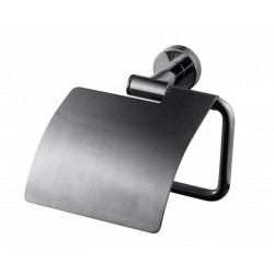 TA236 Toiletpapirholder Black Chrome-20