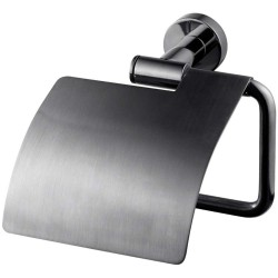 Tapwell TA236 Toiletpapirholder - Black Chrome