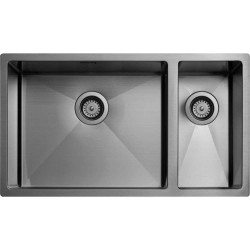 Tapwell TA7040 køkkenvask - Black Chrome