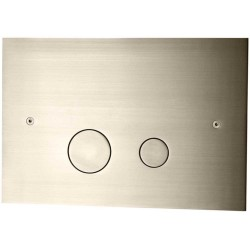 Tapwell DUO112 Skylleknap - Brushed Nickel