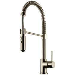 Tapwell EVO176 Køkkenarmatur - Brushed Nickel